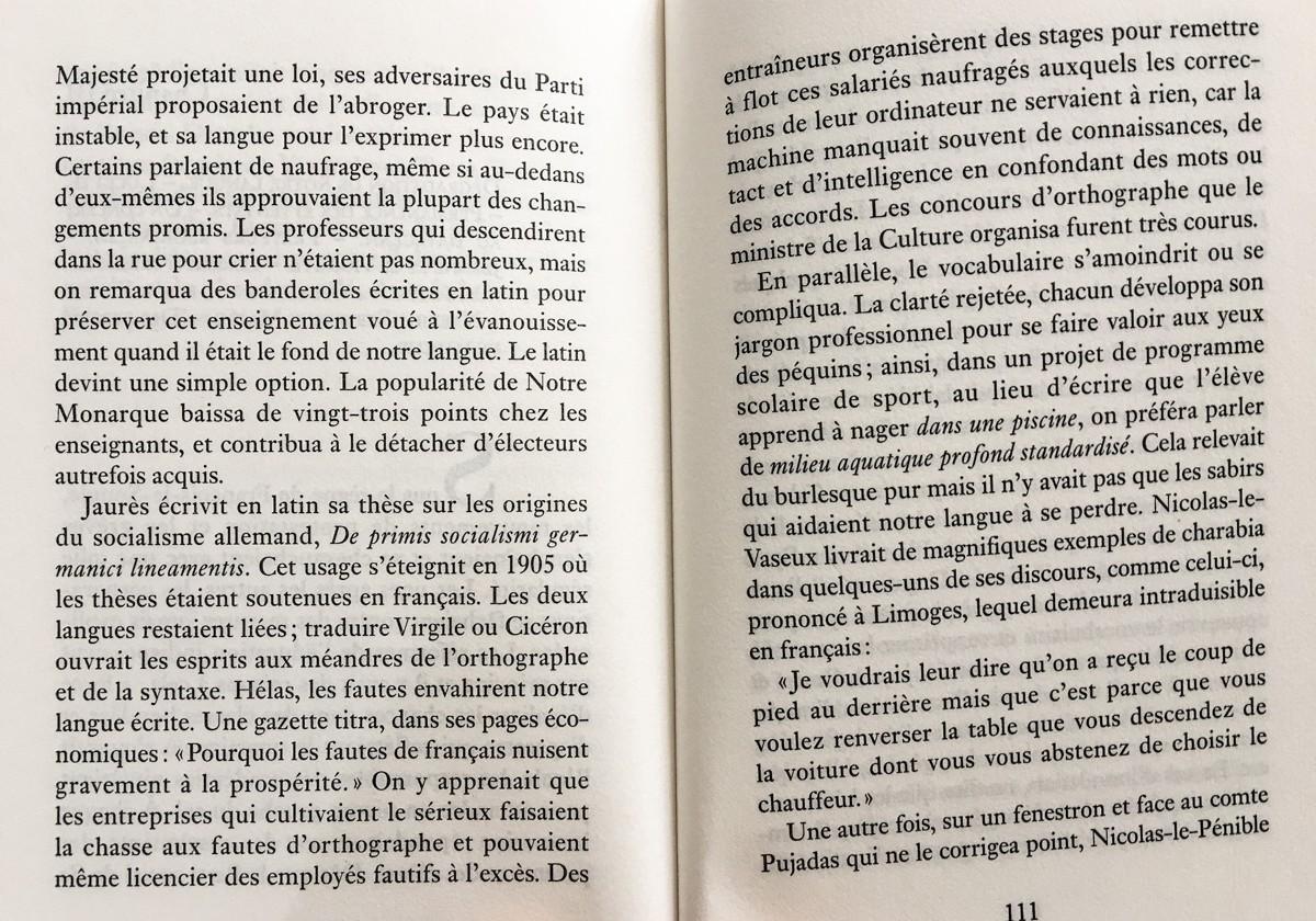 Fin de règne, Patrick Rambaud