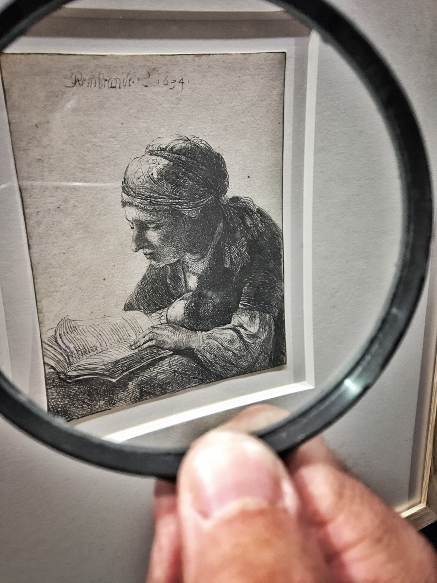 Rembrandt : minuscule et grandiose