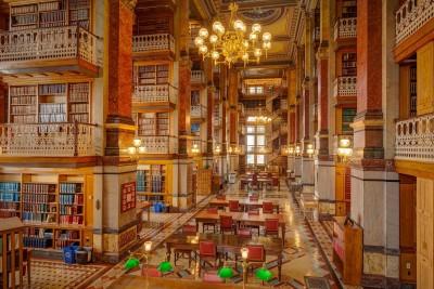 Les plus belles bibliothèques du monde…