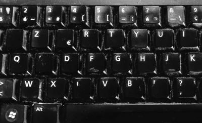 Au revoir mon vieux clavier…